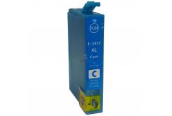 Epson T3472 błękitny (cyan) tusz zamiennik
