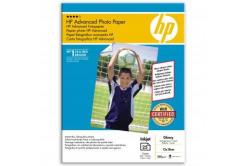 """HP Q8696A Advanced Glossy Photo Paper, papier fotograficzny, błyszczący, biały, 13x18cm, 5x7"""", 250 g/m2, 25 szt."""
