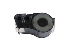 Brady M21-750-595-WT / 142797, vinyl, 19.05 mm x 6.40 m, czarny druk / biały podkład, taśma zamiennik