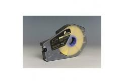 Taśma zamiennikCanon / Partex M-1 Std / M-1 Pro, 6mm x 30m, kazeta, żółty