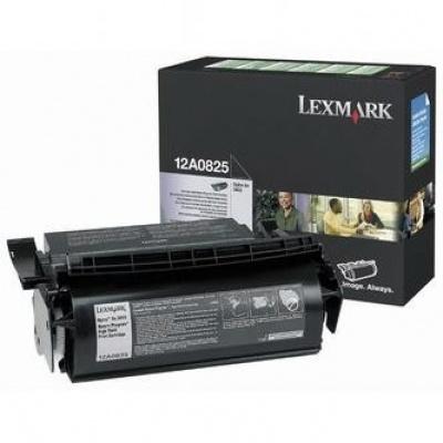 Lexmark 12A0825 czarny (black) toner oryginalny