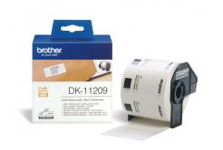 Brother DK-11209, 29mm x 62mm, etykiety papierowe oryginalne
