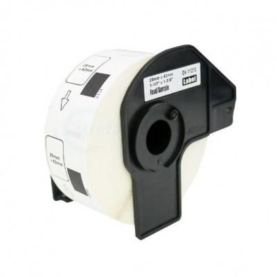 Brother DK-11215, 29mm x 42mm, 700etykiet, etykiety papierowe zamiennik