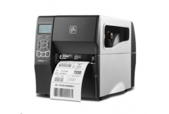 Zebra ZT230 ZT23043-T3E200FZ drukarka etykiet, 12 dots/mm (300 dpi), peeler, display, ZPLII, USB, RS232, Ethernet