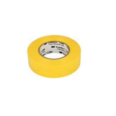 3M Temflex 1300 Taśma elektroizolacyjna , 15 mm x 10 m, żółty