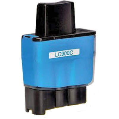 Brother LC-900C błękitny (cyan) tusz zamiennik
