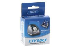 Dymo 11353, S0722530, 25mm x 13mm, białe multifunkční etykiety papierowe oryginalne