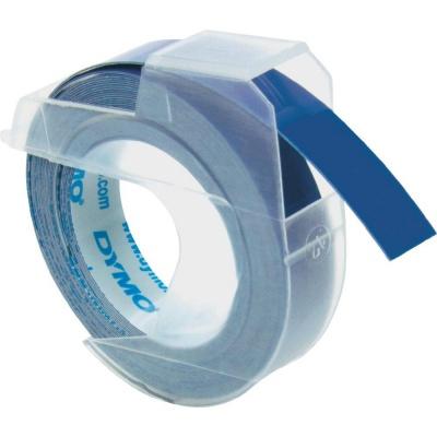 Dymo S0898140, 9mm x 3m, biały druk / niebieski podkład, taśma oryginalna