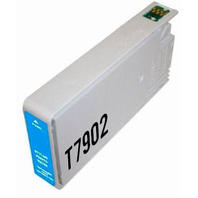 Epson T7902 błękitny (cyan) tusz zamiennik