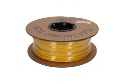 Rurka do znakowania, owalna, PVC, PO profil, BF-50, 5 mm, 100 m, żółty