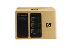 HP 90 C5095A 3ks czarny (black) tusz oryginalna