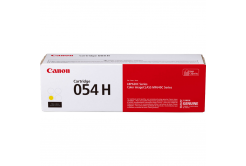 Canon toner oryginalny 054HY, yellow, 2300 stron, 3025C002, high capacity, Canon i-SENSYS LBP621Cw, 623Cdw, MF641Cw, 643Cdw, 645Cx