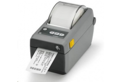 Zebra ZD410 ZD41023-D0EE00EZ drukarka etykiet, 12 dots/mm (300 dpi), MS, RTC, EPLII, ZPLII, USB, BT (BLE), Ethernet, dark grey