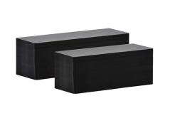 Evolis C8122 50x120mm PVC karty, matowo czarne, 100szt