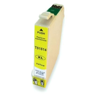 Epson T1814 XL żółty (yellow) tusz zamiennik