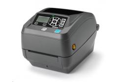 Zebra ZD500 ZD50043-T1EC00FZ drukarka etykiet, 12 dots/mm (300 dpi), peeler, RTC, ZPLII, BT, Wi-Fi, multi-IF (Ethernet)