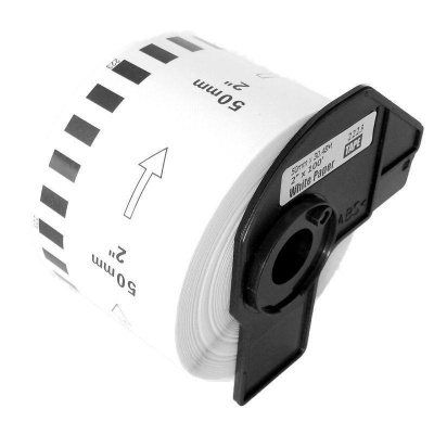 Brother zamiennik DK-22223 50mm x 30,48m, etykiety papierowe