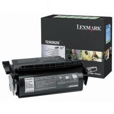 Lexmark 12A0829 czarny (black) toner oryginalny