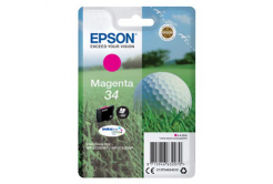 Epson T34634010, T346340 purpurowy (magenta) tusz oryginalna