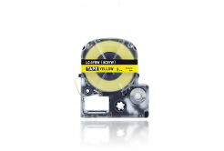 Epson LC-SC9YW, 9mm x 8m, czarny druk / żółty podkład, taśma zamiennik