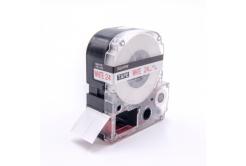 Epson LC-SS24RW, 24mm x 8m, czerwony druk / biały podkład, taśma zamiennik