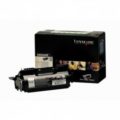 Lexmark 64004HE czarny (black) toner oryginalny