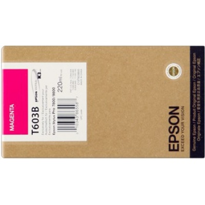 Epson T603300 purpurowy (magenta) tusz oryginalna