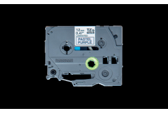 Brother TZ-MQF31 / TZE-MQF31, 12mm x 4m, czarny druk / fioletowy podkład, taśma oryginalna