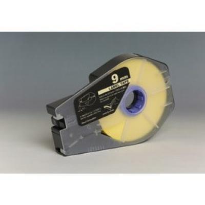 Taśma zamiennik Canon / Partex M-1 Std / M-1 Pro, 9mm x 30m, kazeta, żółty