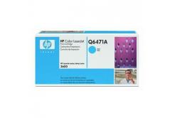 HP 502A Q6471A błękitny (cyan) toner oryginalny