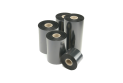 Honeywell Intermec I90485-0 thermal transfer ribbon, TMX 3710 / HR03 resin, 110mm, 25 rolls/box, black