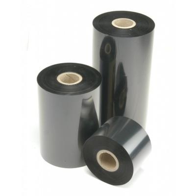 """TTR taśma, pryskyřičná (resin) 74mm x 74m, 1 / 2"""", OUT czarny"""