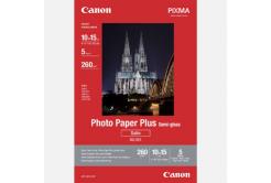 """Canon Photo Paper Plus Semi-Glossy, foto papír, pololesklý, saténový, biały, 10x15cm, 4x6"""", 260 g/m2, 5  szt., 1686B072, inkoustový"""