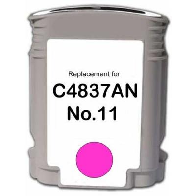 HP 11 C4837A purpurowy (magenta) tusz zamiennik