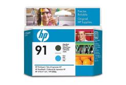 HP C9460A 91 matowo czarny/błekitna (matte black/cyan) głowica drukująca oryginalna