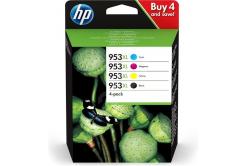 HP tusz oryginalna multipack 3HZ51AE, HP 953XL, CMYK, 1600CMY-2000K stron, HP