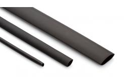 Partex rurka termokurczliwa HSDW 3 - 4.8, 3:1, 1,6-4,8 mm, 1,2 m, czarny