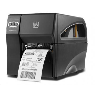 Zebra ZT220 ZT22042-T0E200FZ TT drukarka etykiet, 203 DPI, RS232, USB, INT 10/100