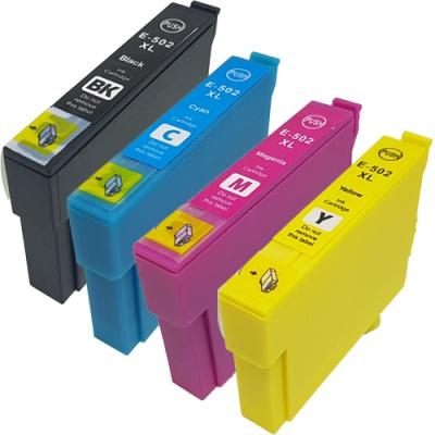 Epson 502XL T02W640 CMYK multipack tusz zamiennik