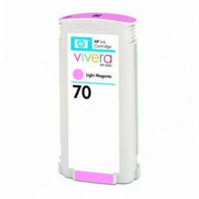 HP 70 C9455A jasno purpurowy (light magenta) tusz oryginalna