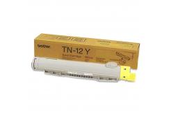 Brother TN-12Y żółty (yellow) toner oryginalny