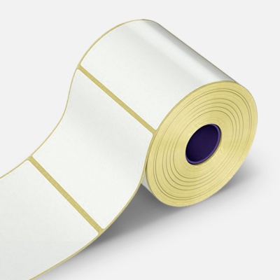 Samoprzylepne etykiety 50x40 mm, 1000 szt., papírové pro TTR, rolka