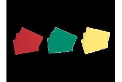 Evolis C4301 500szt CR80 PVC karty, czerwone