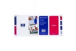 HP 80 C4822A purpurowy (magenta) głowica drukująca oryginalna