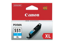 Canon CLI-551XLC błękitny (cyan) tusz oryginalna