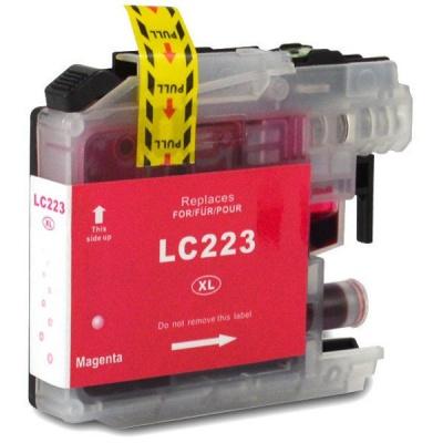 Brother LC-223XL purpurowy (magenta) tusz zamiennik