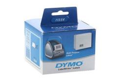 Dymo 11354, S0722540, 32mm x 57mm, biała, 1000 szt., oryginalne etykiety papierowe