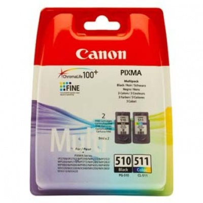 Canon PG-510 + CL-511 multipack tusz oryginalna