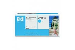 HP 503A Q7581A błękitny (cyan) toner oryginalny
