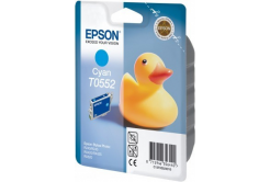 Epson T055240 błękitny (cyan) tusz oryginalna